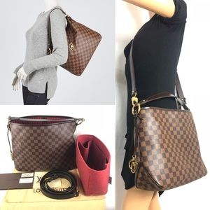 ❤️RARE❤️hobo CROSSBODY DELIGHTFUL LOUIS VUITTON